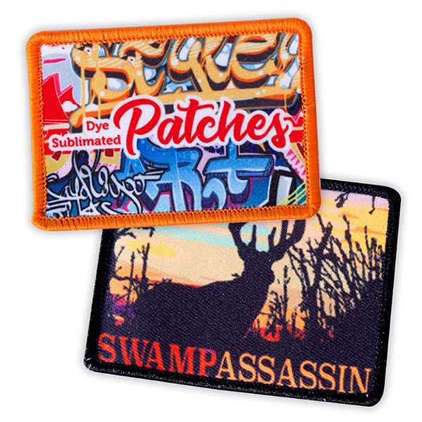 "PTCH-SUB04 - 4"" Sublimated Patch"