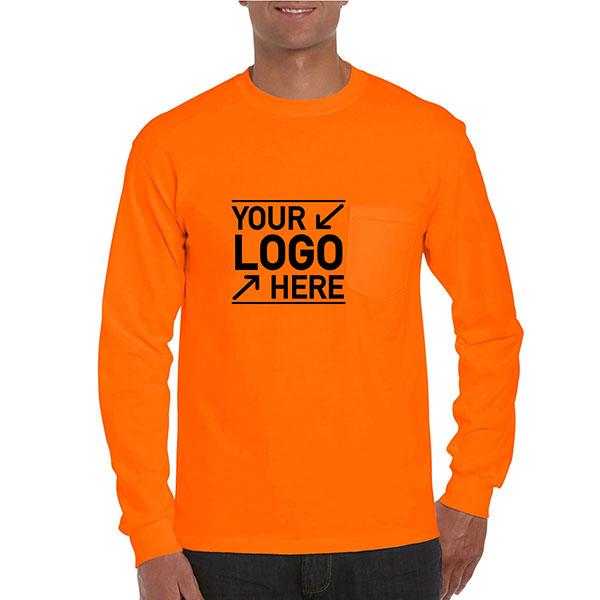 AT2410 - Gilden Ultra Cotton Adult Long Sleeve T-Shirt