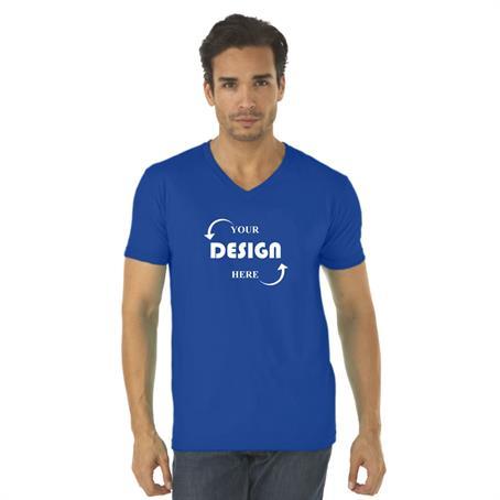AT3200C - Next Level Full Color Men'S V-Neck T Shirt