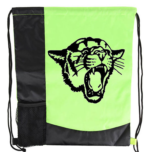 BG-DB33 - Striped Drawstring Bag