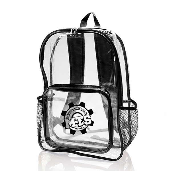 BG-BB28 - Clear Plastic Bookbags