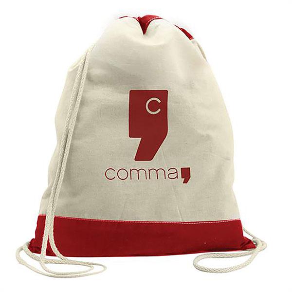 BG-GL13CT - Excursionist Cotton Drawstring Bag