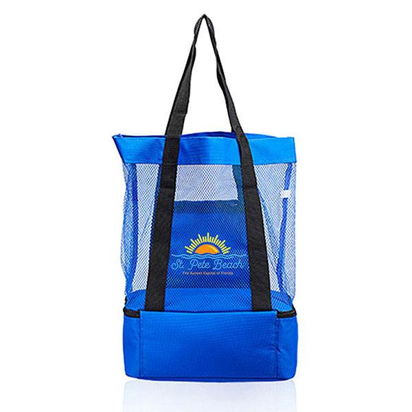 BG-MTB32 - Mesh Tote Bag w/ Cooler