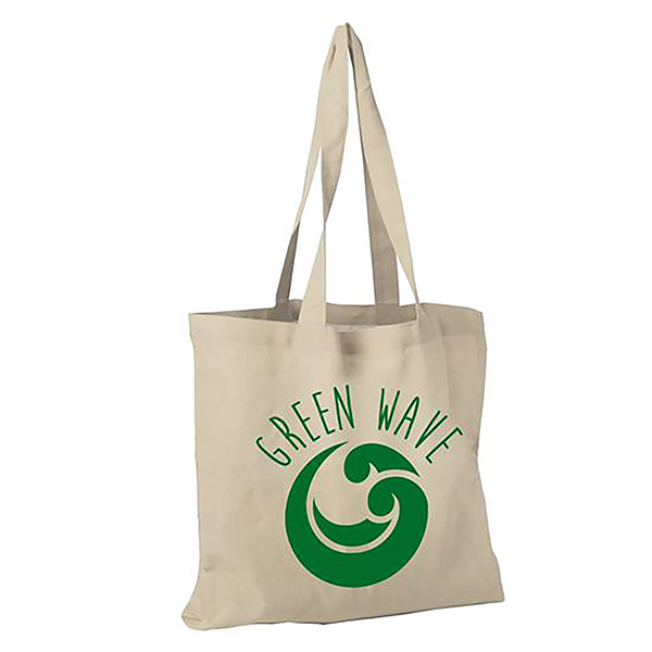 "BG-GL15CTN - 15"" Natural Cotton Tote Bag"