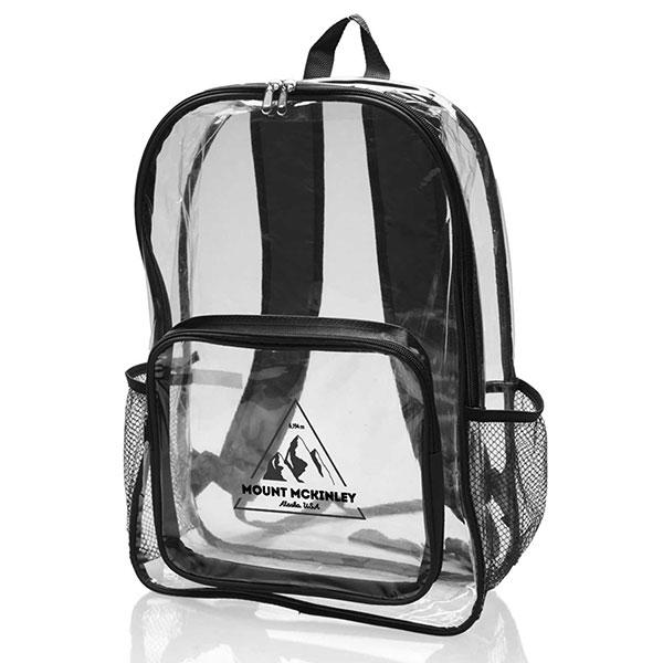 BG-BB28 - Clear Plastic Bookbags