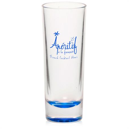 BP1650CL - 2 oz. Clear Cordial Shooter Shot Glasses