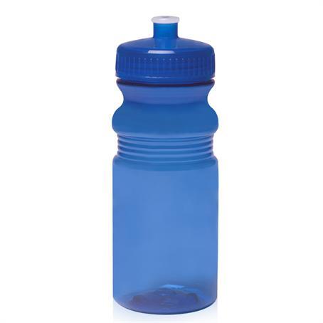 BP2063 - 20 oz. Push Cap Bike Water Bottles