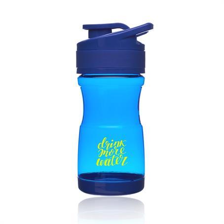 BP342 - 20 oz Brawny Plastic Water Bottles with Flip Lid
