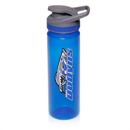 BPG147 - 22 oz. Plastic Sports Water Bottles with Flip Lid