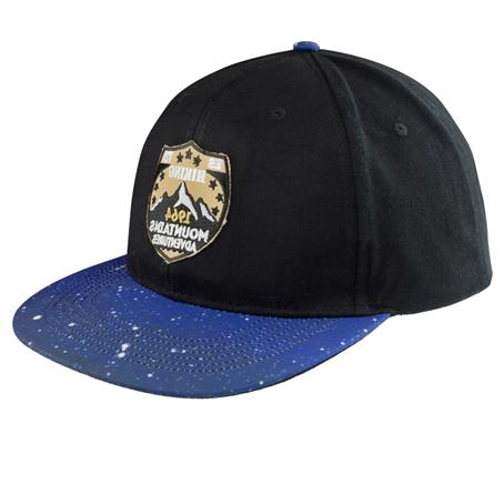BP-ACAP91 - Galaxy Flat-Bill Baseball Caps