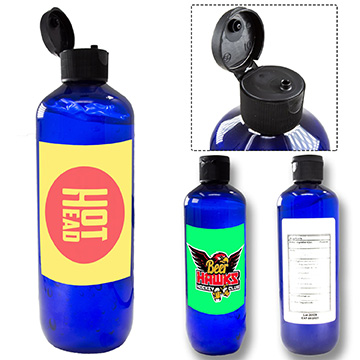 HSVAC16 - 16 oz USA Made Large Hand Sanitizer w/ Custom Imprint FDA