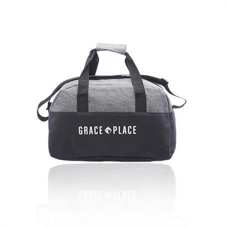 IDFBUS23 - Two-tone classic Duffel Bag w/ Shoulder Strap