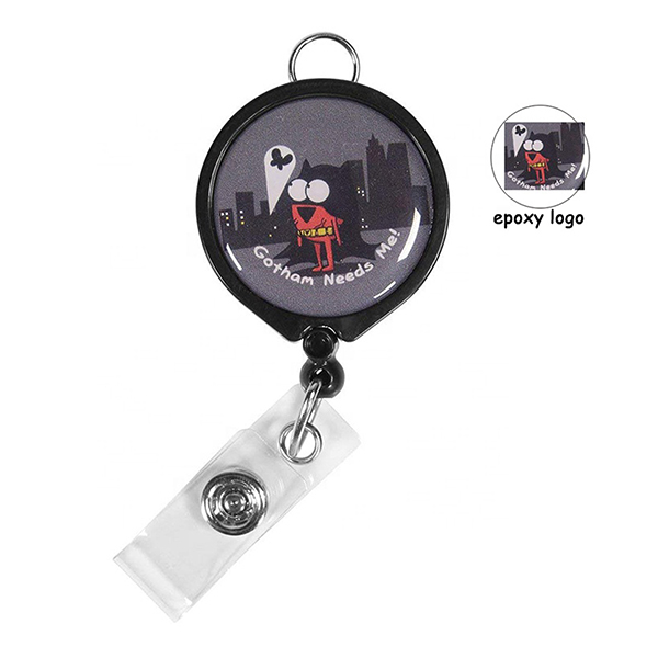 ID Products, Badge Reels, Large Logo Badge Reel