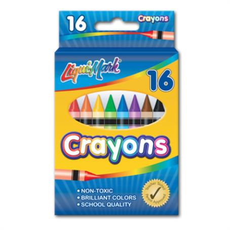 IL-86169 - Set of 16 Crayons