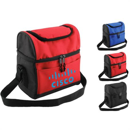 IM-CBSC314US - Dual Compartment Insulated Lunch Bag
