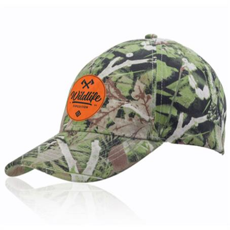 IM-CPFL38US - Camouflage Brushed Cap Cotton Twill