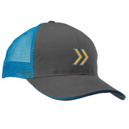 IM-CPFL81US - Mesh Trucker Hats with Two-Tone Color