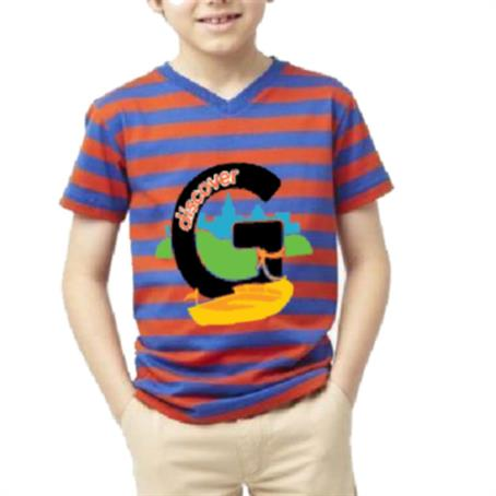IM-HDSVK15 - Kids V-Neck T-Shirt W/ Edge To Edge Sublimation Tshirts