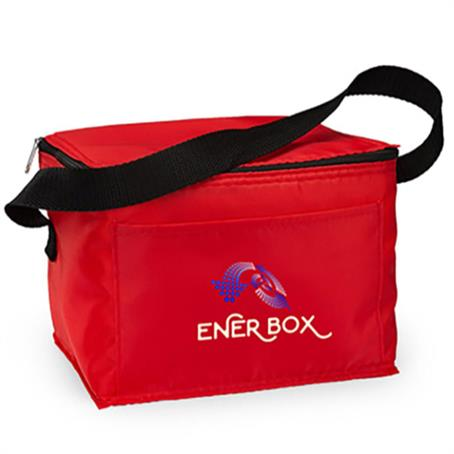 IM-LBUS01 - Economy Lunch Cooler W/ Custom Imprint Insulated Lunch Bag