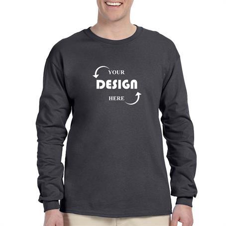 IM-SSFL240 - Preshrunk 100% Cotton Long Sleeve Winter T-Shirt 6.1 oz