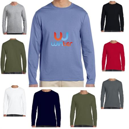 IM-SSFL644 - Soft Lightweight Cotton Long Sleeve Winter T-Shirts 4.5 oz.