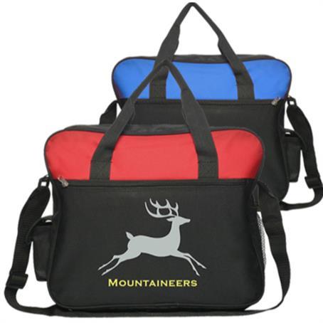 IM-TLB24US - Promotional Economy Laptop Messenger Bag W/ Shoulder Strap