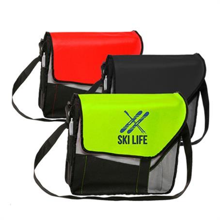 IM-TLB31US - Messenger Bag - Slant flap Laptop bags w/ Shoulder strap