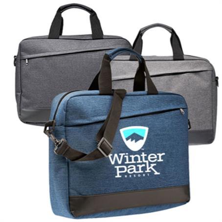 IM-TLB35US - Business Polyester Messenger Bags w/ Shoulder strap