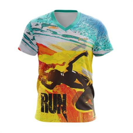 IM-TSFC180 - Full Color T-Shirts W/ Edge To Edge Sublimation T-Shirt