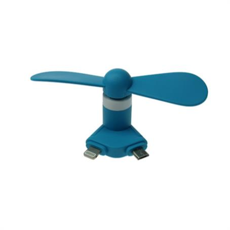 IM-UF1006 - Mini USB Fan with ligtning and micro usb