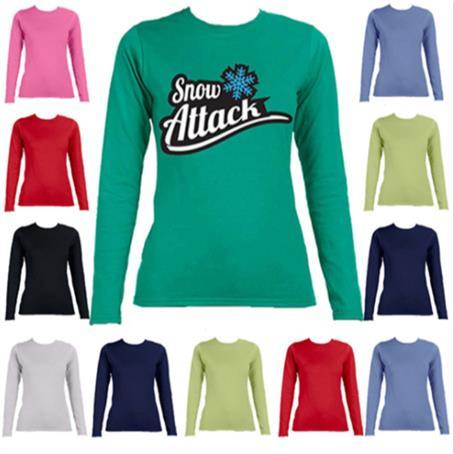 IM-YSFL644G - Youth Long Sleeve Winter Full Sleeve T-Shirt 4.5 oz Girls