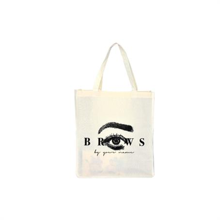 """ITBFC813 - FULL COLOR LARGE TOTE BAG WITH 8"""" GUSSET"""
