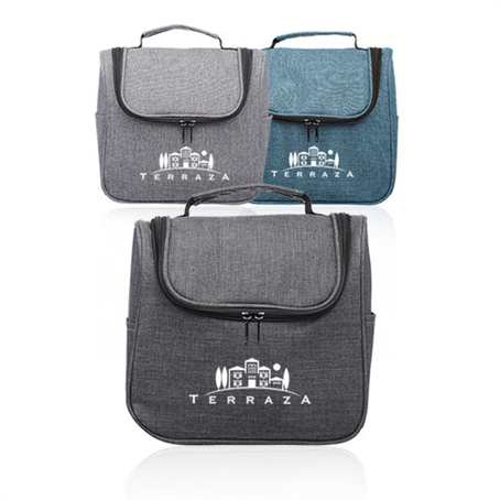 ITLBUS03 - Road Trip Heathered Toiletry Bags
