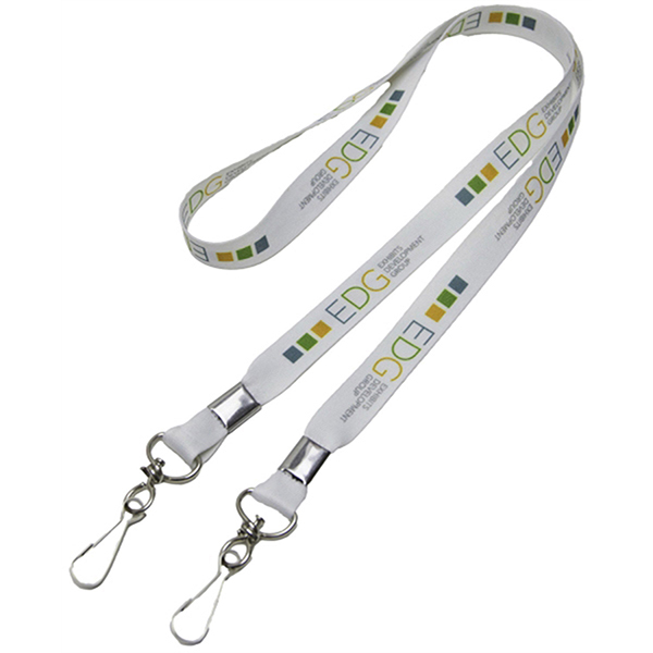 "LAN-DENL01 - 1"" Double Ended Nylon Lanyard"