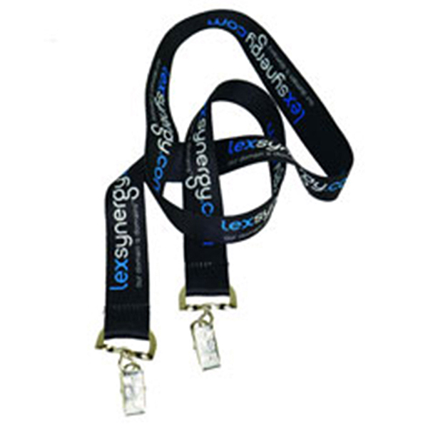 "LAN-DESL01 - 1"" Double Ended Dye Sublimation Lanyard"