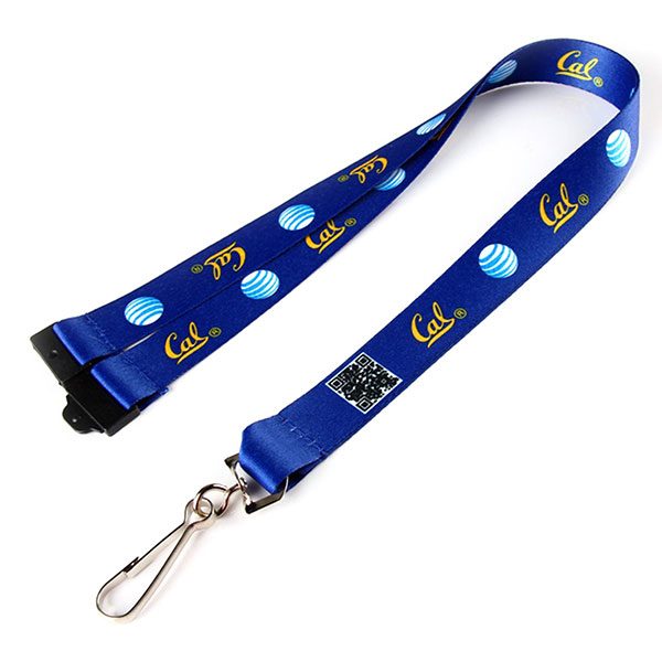 "LAN-SLSB58 - 5/8"" Dye Sublimation Lanyard w/ Safety Breakaway"