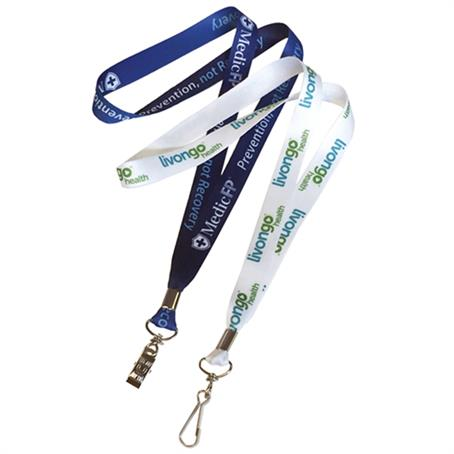 LAN-US34 - USA made Full color sublimation lanyards 3/4""