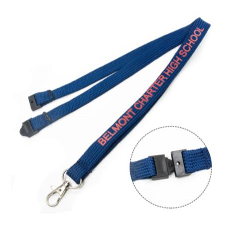 """LTBSB58 - 5/8"""" Tube Lanyards With Safety Breakaway"""