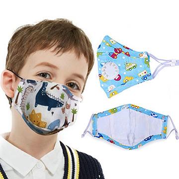 MSK3LK - Kids Face Mask w/ Full Color Imprint Cotton Safety Masks