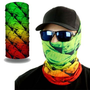 MSKDS23 - 2-Layer Reusable Face Bandana mask Tube w/ Full Color Logo