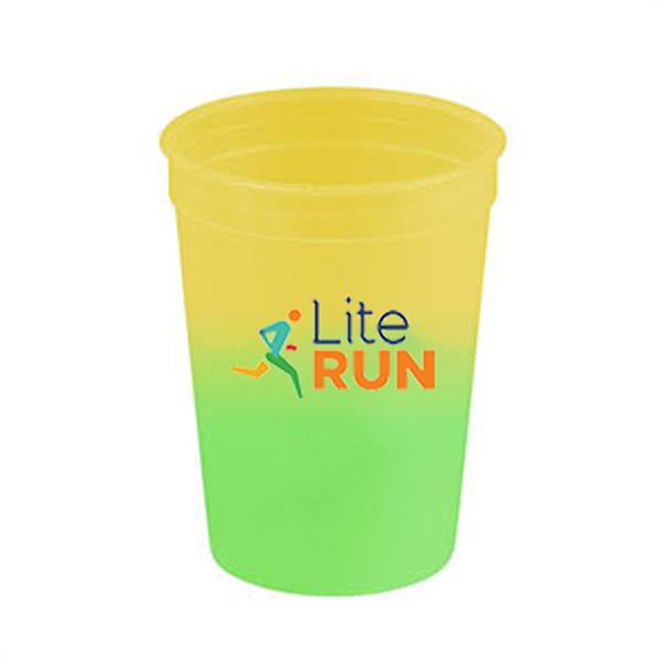 DWPL2387 - 12 Oz. Color Changing Sports Cups