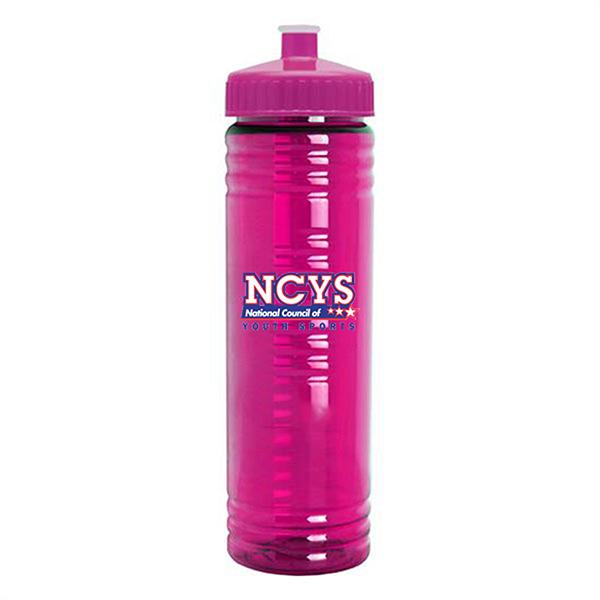 SPB135 - 24 oz. Slim Fit Transparent Watter Bottle