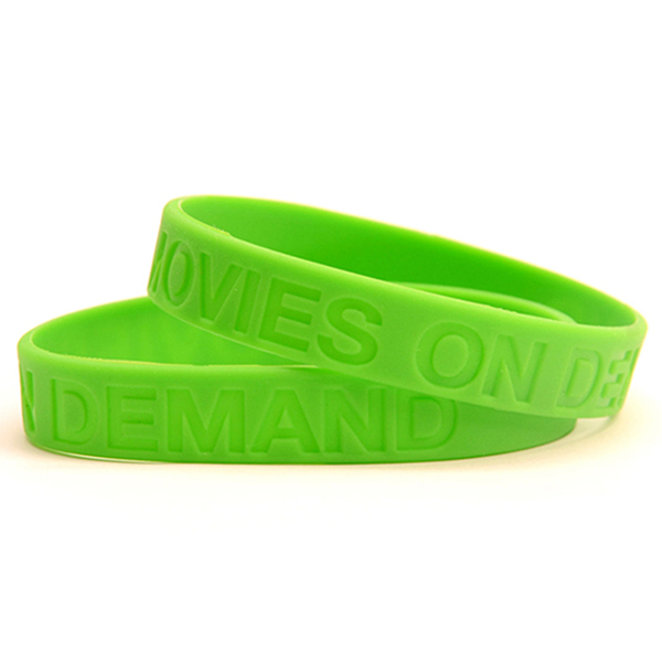 "WDB12 - 1/2"" Debossed Wristband"