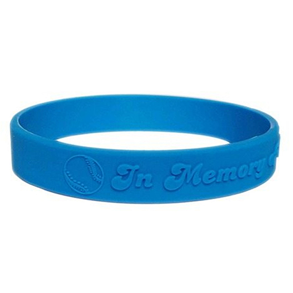 "WEM12 - 1/2"" Embossed Wristband"