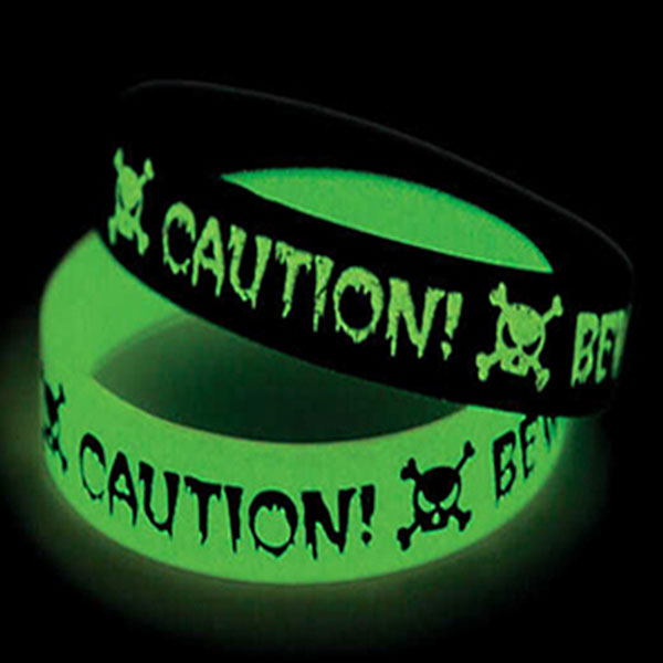 "WGID34 - 3/4"" Glow-in-the-Dark Wristband"