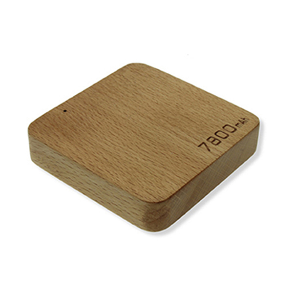 TCH-HCWPWR7800 - High Capacity Wooden Powerbank