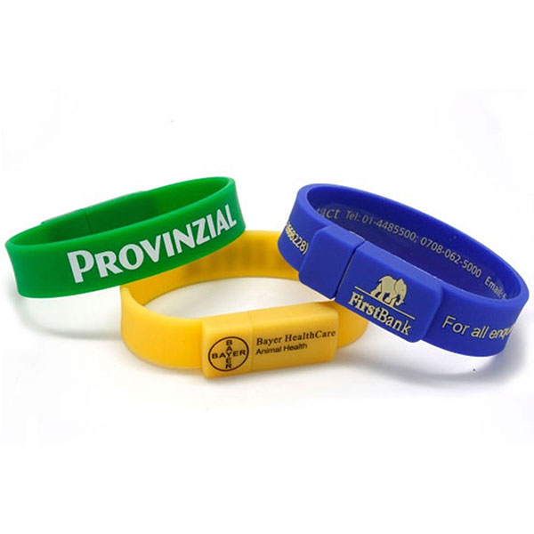 TCH-WBD108 - Wristband USB Drives - 128MB