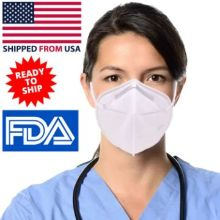 In Stock Usa Face Mask Kn95 Grade Antibacterial Fda Approved