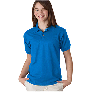 Gildan Dryblend Youth Cotton Polo Sport Shirts
