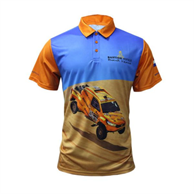 Men's Sublimation Polo 150 GSM 100% Polyester Performance